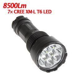 Outdoor 8500Lm 7X CREE XM-L XML T6 LED 5 Mode LED Flashlight Torch
