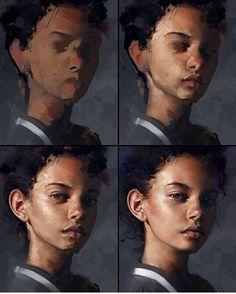 комп. графика портрет поэтапно