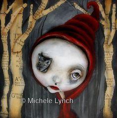 Red Riding Hood Art Print 1/50 via Etsy