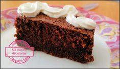 Gâteau au chocolat avec le cake factory - Ma cuisine débutante
