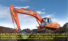D & M Plant Hire Pty Ltd. offers heavy earth moving equipment hire including Backhoe, bobcat, excavators etc. that used in mining and civil construction industry. Dry Plants, Cool Plants, Earth Moving Equipment, Civil Construction, Mining Equipment, 45 Years, Risk Management, Wet And Dry, Brisbane