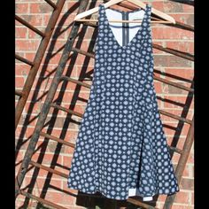 Blue A&F dress Worn once to an event. Thick fabric. Abercrombie & Fitch Dresses