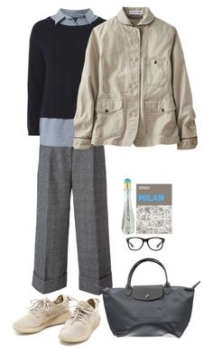 """""""Sin título #1696"""" by mussedechocolate ❤ liked on Polyvore featuring 3.1 Phillip Lim, Longchamp, Dorothy Perkins, Uniqlo, Palomar and Laura Biagiotti"""