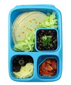 Look at this Blue Hero Lunch Container Set on #zulily today!
