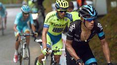 Alberto Contador - Fabio Aru - Richie Porte - Rigoberto Urán  Who will win the Giro d'Italia? #giro pic.twitter.com/ay5Btl2529