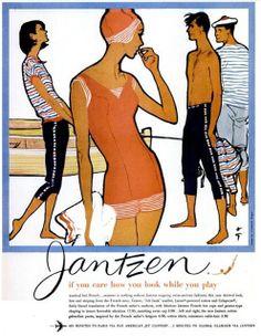 My Pretty Baby Cried She Was a Bird: Jantzen Sportswear (1958-1960)