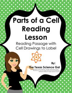 This download is perfect if you are looking for a way for students to develop their reading skills within the science classroom setting. Reading, decoding word meaning, and visualizing is necessary in every  content area.This passage contains 3 pages of reading that covers the 7 main parts of a cell including: nucleus, cytoplasm, mitochondria, cell membrane, vacuole, chloroplast, and cell wall.