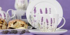 I Love Lavender High Tea Set. I want it all.
