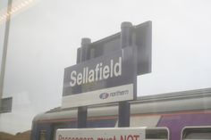 https://flic.kr/p/7M9zVN | Station Sign - Ravenglass and Eskdale Railway 20.3.10 | Sellafield Station sign, the nuclear power station is just behind the station.