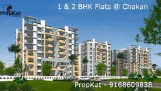1 & 2 BHK Flats @ #Chakan #Pune #PropKat - 9168609838  #1BHK #2BHK