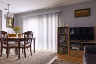 Cleaning vertical blinds is a tricky task as they need proper care. Here are best ways on how to clean vertical blinds easily at home without spending money Furniture, Home, Decor Interior Design, Furniture Collection, Blinds For Windows, House Blinds, Cool Furniture, Blinds, Vertical Blinds