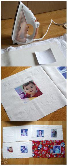Un livre en tissu pour Maëlle (tuto)                                                                                                                                                      Plus