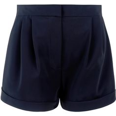 La Perla Wired Shorts (1,040 SAR) ❤ liked on Polyvore featuring shorts, short, black and short shorts