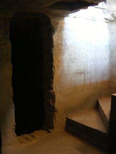 Underground wine fermentation Rooms - Step underground to the bygone years of wine making