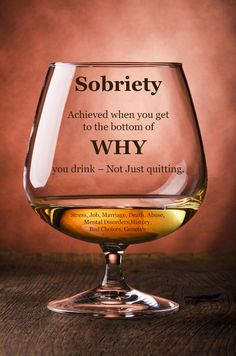 Why? - Sober Inspirations - Sign up for daily inspirations to help you on your road to sobriety. You can sign up a loved one too.