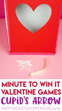 These Valentine games are perfect for all ages - challenging enough for older kids and adults but still simple enough that younger children can join in the fun! Valentines Games For Couples, Valentine Games, Valentines Gifts For Boyfriend, Valentines Day Party, Valentines For Kids, Valentine Ideas, Valentine's Day Party Games, Fun Party Themes, Party Ideas