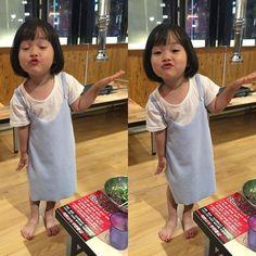 Cute Asian Babies, Korean Babies, Asian Kids, Cute Babies, Baby Kids, Jikook, Tao, Kids Kiss, Baby Tumblr