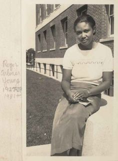 Roger Arliner Young (1889–1964) was a zoologist and biologist and the first African-American woman to receive a doctorate in zoology. During her long career she studied radiation, paramecium, and hydration and dehydration of living cells. | 34 American Lady Scientists Who Changed The World