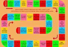 spanish sentence building dominoes - Google Search