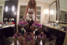 Beyoncé causa revuelo bailando en ropa interior (Video)  #Beyoncé. Foto: Youtube