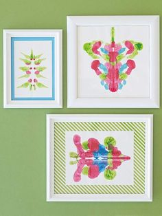DIY Rorschach Paintings