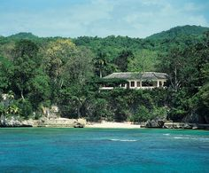 The former winter home of Ian Fleming in Oracabessa, Jamaica, is now the centerpiece of Chris Blackwell's Goldeneye resort. Fleming, who wrote all of his James Bond novels at Goldeneye, designed the house himself.  Architecture by Ann Hodges/Interior Design by Linda Garland