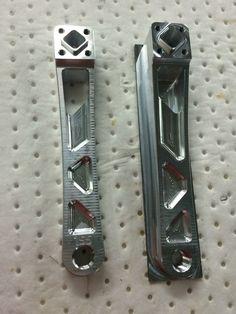 Making BMX racing crank arms today