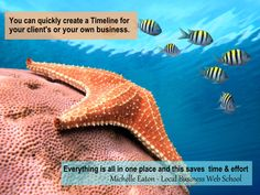 Michelle Eaton has a business servicing several online clients. Here's how she has found our Timeline Graphics have helped her.  Click on the link to see more.  http://usefulgraphicdesigntutorials.com/offers/timeline/