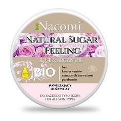 Peeling cukrowy róża i jogurt z nasionami malin - Nieprzyzwoicie naturalny sklep dla kobiet lubiących siebie