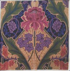 Classic Art Nouveau design.