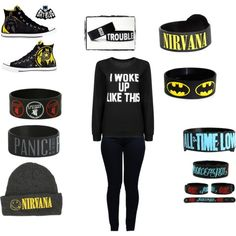 I woke up like this by plzexusemyclumsiness on Polyvore featuring Armani Jeans and Converse