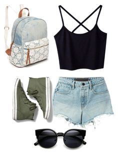 """""""Walk"""" by izzybelle717 on Polyvore featuring T By Alexander Wang, Keds and Red Camel"""