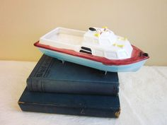 Rubens Boat Planter Made in Japan Mid Century by annmerrilldesigns