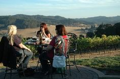 Sweet Cheeks Winery southwest of Eugene offers beautiful outdoor patio
