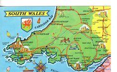 South Wales Wales Uk, South Wales, Queensland Australia, Western Australia, Memory Wall, Aberystwyth, Luggage Labels, Cymru