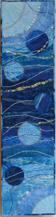 Blue Moon by Alison Drayson. Use for blue gray panel from ws