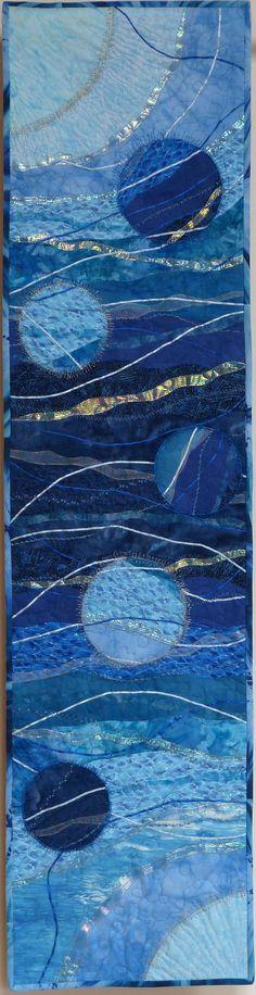 Blue Moon by Alison Drayson www.bullesdinspi.fr Florence Fémelat Designer d'espaces aime!