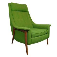 Vtg Mid Century Danish Modern Teak Lounge Arm Chair Finn Juhl Kagan Gibbings Era