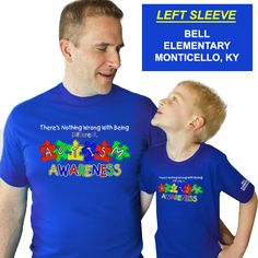 Offer # DD-AUT1 Show your support for AUTISM AWARENESS by wearing these high quality t-shirts. We are making these shirts available at a tremendous price of ONLY $8.95 for short sleeve tees with a 12