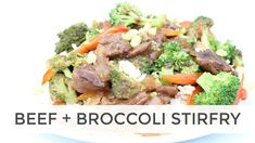 Easy Beef and Broccoli Stir Fry Recipe w/Grass Fed Beef Sirloin Tips Beef Broccoli Stir Fry, Easy Beef And Broccoli, Stir Fry Recipes, Clean Recipes, Healthy Recipes, Healthy Eats, Beef Sirloin, Sirloin Tips, Dukan Diet Recipes
