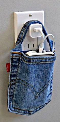 Great idea - recycled jeans