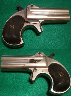 .41 cal Remington  Double Derringer Type II.  A.K.A. Model 95 Double Derringer