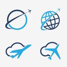 40 Ideas Travel Logo Design Icon Set For 2019 Airplane Icon, Airplane Vector, Airplane Travel, Travel Blog, Travel Maps, New Travel, Paris Travel, Logo Design, Icon Design