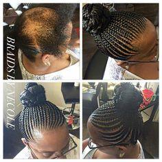 Nice Black Hair Updo Hairstyles, African Braids Hairstyles, Summer Hairstyles, Diy Hairstyles, Hairdos, Braids For Thin Hair, Curly Hair Styles, Natural Hair Styles, Damaged Hair Repair