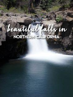 Beautiful falls in Northern California