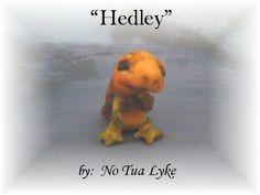 ooak baby miniature baby turtle by No Tua Lyke clay sculpture milton