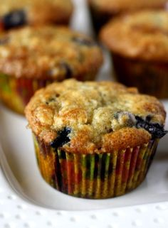 Blueberry Banana Muffins - I added some lemon peel to this and cut the sugar down to 1/2 cup instead of 3/4 cup. Haven't eaten it yet but I think I'll like them.