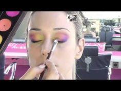 Look Arco iris con Corinne Perez, directora de Stick Art Studio, escuela de maquillaje artístico y profesional en Barcelona