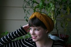 Gorgeous turban tutorial from @solanah