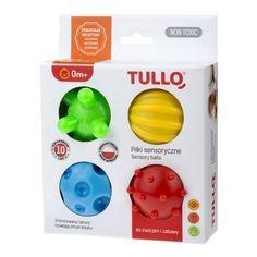 Piłki sensoryczne 4 szt - Tullo 459